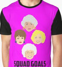 The Golden Girls - Squad Goals Graphic T-Shirt
