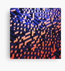 Blocks upon blocks upon... Canvas Print