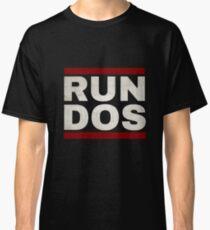 RUN DOS (RUN DMC) Classic T-Shirt