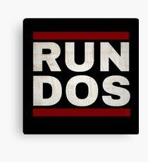 RUN DOS (RUN DMC) Canvas Print