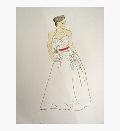 Wedding Dress No 5 Photographic Print