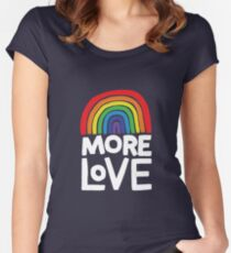 more love Women's Fitted Scoop T-Shirt