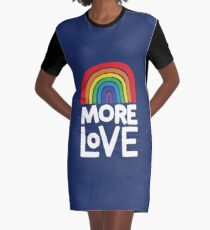 more love Graphic T-Shirt Dress