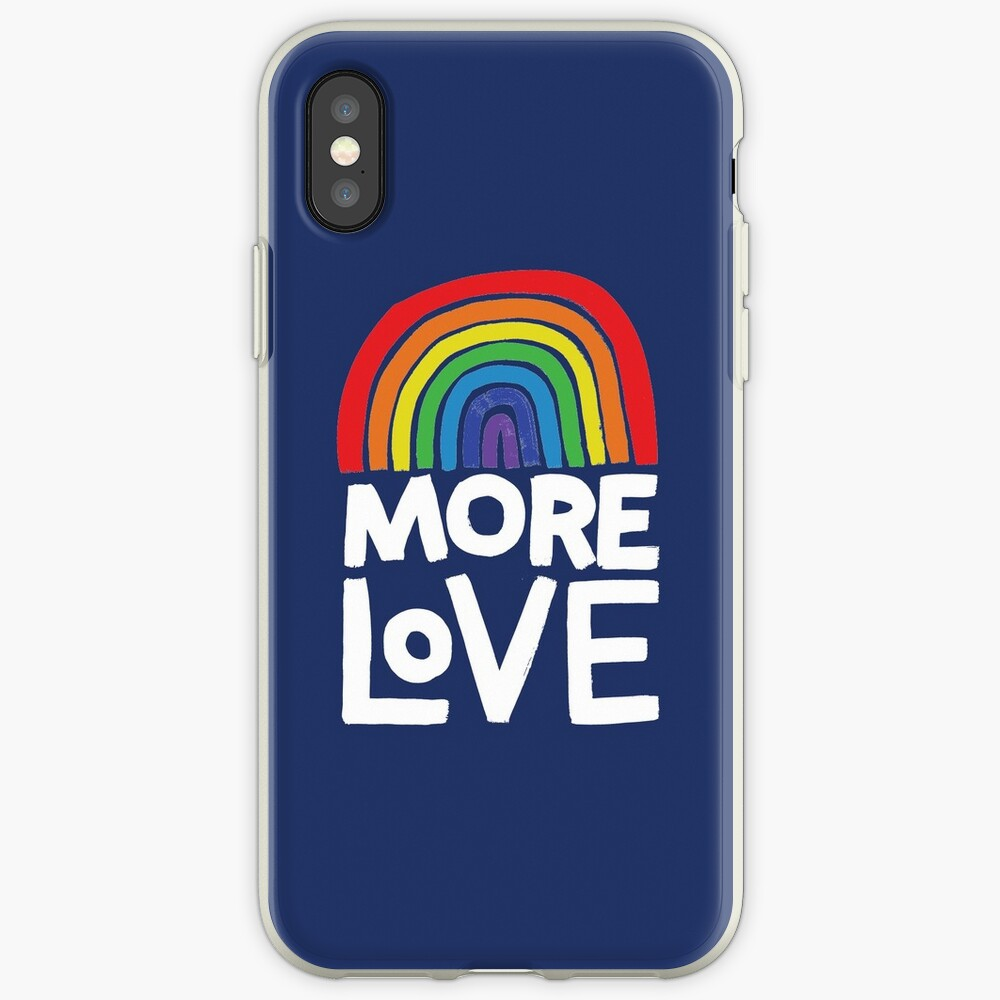 more love iPhone Case & Cover