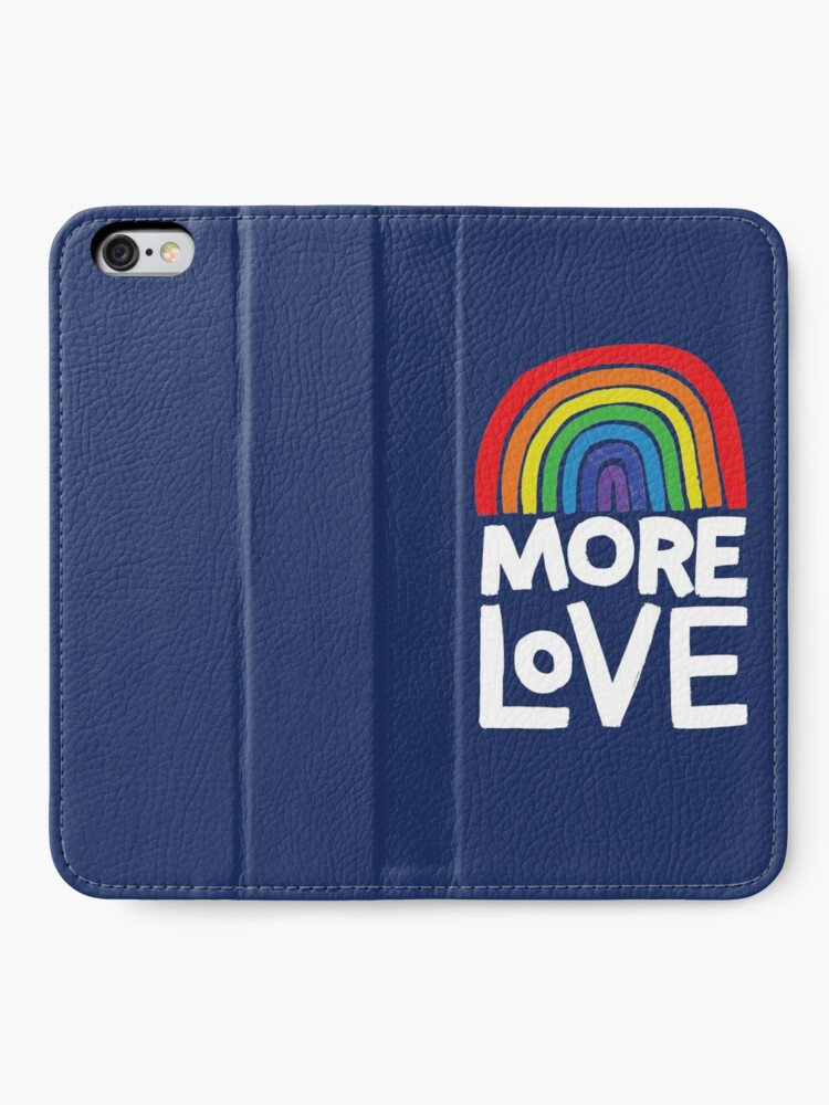 Alternate view of more love iPhone Wallet