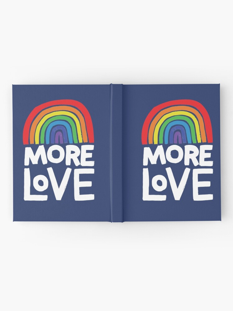 Alternate view of more love Hardcover Journal