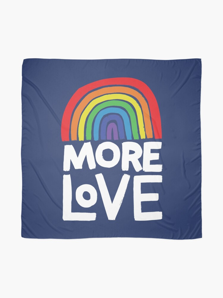 Alternate view of more love Scarf