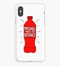 Michael Makes an Entrance iPhone Case