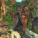 West Rim Trail - Zion National Park by Carrie Alyson