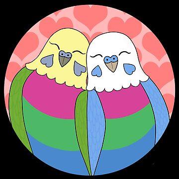 Polysexual Parakeets by Shadowfudo