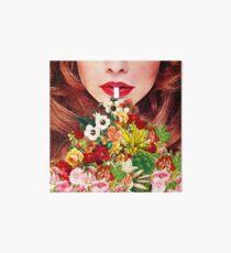 Floral Smoothie Art Board