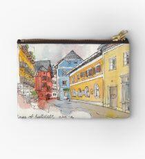 Travelsketch- Town of Hallstatt in Austria Studio Pouch