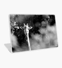portrait of giraffe Laptop Skin