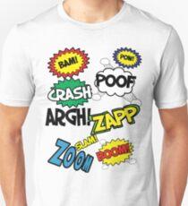 Comic Sound Effects T-Shirt