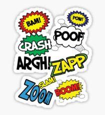 Comic Sound Effects Sticker