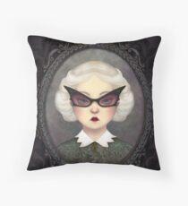 Aunt Liza Throw Pillow
