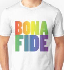Bona Fide Rainbow  T-Shirt