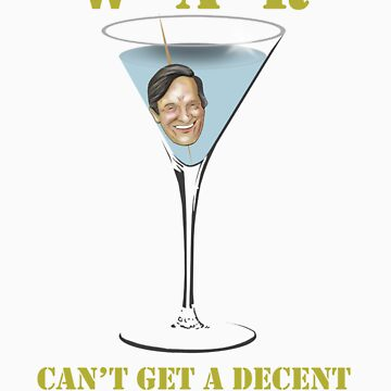 Get me a drink. STAT! by Sockpuppet