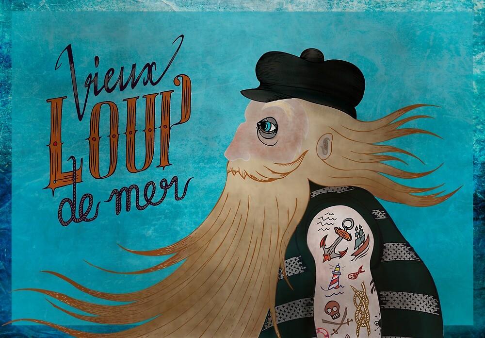 « Vieux Loup de Mer l'original » par Cécilia Leroux