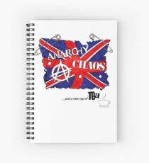 Anarchy, Chaos and Tea Spiral Notebook