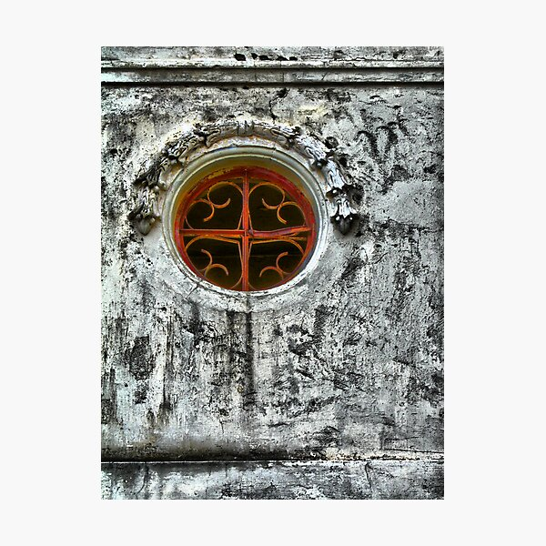 Circular Window Photographic Print