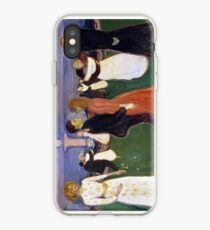 Edvard Munch - Dance of life / Livetsdans (1899-1900) iPhone Case