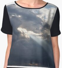 Sun through Clouds Chiffon Top