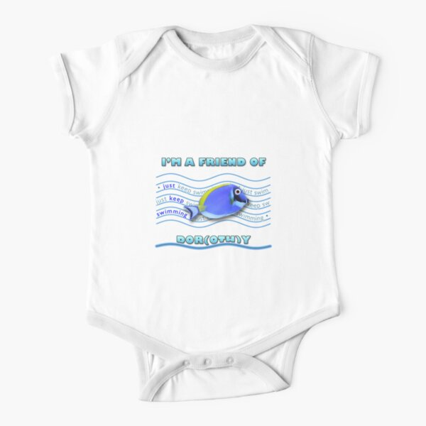 Friend of Dor(oth)y Short Sleeve Baby One-Piece