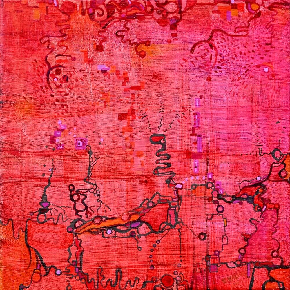 Listen, original oil on linen by Regina Valluzzi