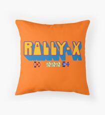 Rally X Logo Throw Pillow