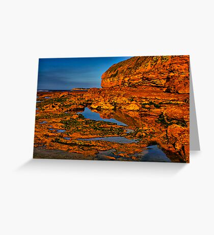 """Shoreline Reflections"" Greeting Card"