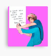 silly weird andrew vanwyngarden Canvas Print