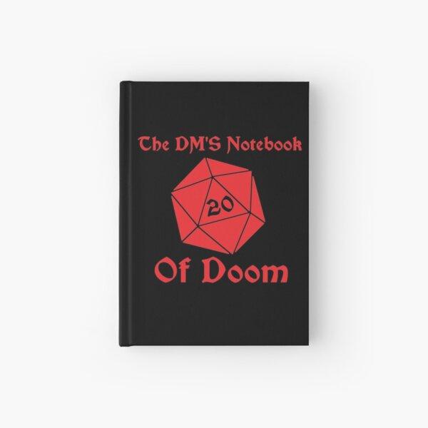 DM's Notebook of Doom Hardcover Journal