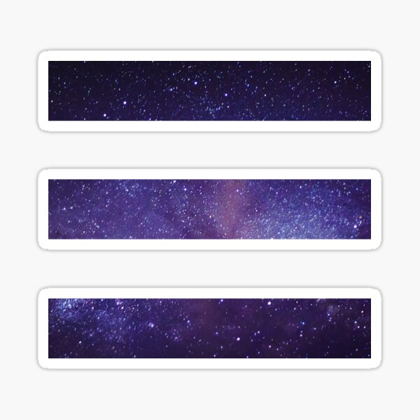 Starset 'E' Logo - Galaxie Sticker