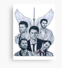 Castiel   Supernatural Canvas Print