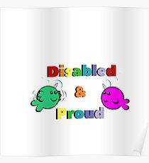 Disabled & Proud Poster