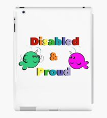 Disabled & Proud iPad Case/Skin