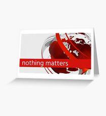 BBC Breaking News Joke Headline Nothing Matters Anymore Greeting Card