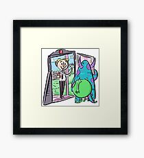 The Book of Monsters Framed Print