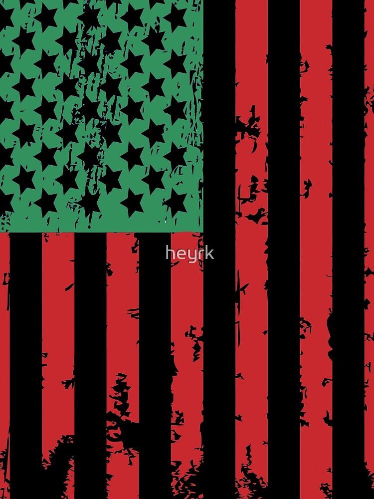 Juneteenth Flag by heyrk