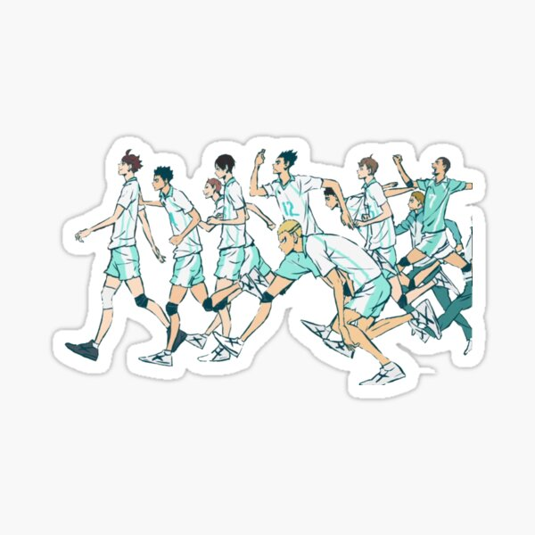 Aoba Johsai - Haikyuu !! Sticker