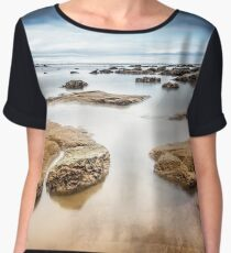 Seascape  Chiffon Top