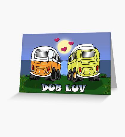 Dub Luv Card -Sunrise Greeting Card