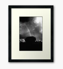 Heaven's Bridge....... Sydney Park Framed Print