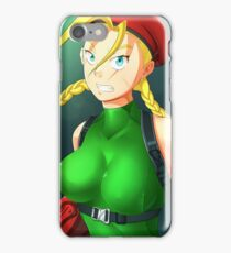 Cammy street fighter iPhone Case/Skin