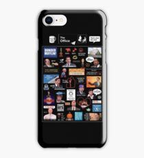 The Office US Montage iPhone Case/Skin