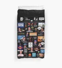 The Office US Montage Duvet Cover