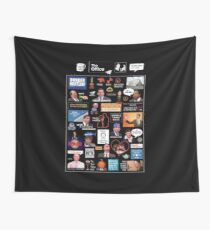 The Office US Montage Wall Tapestry
