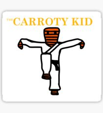 The Carroty Kid Sticker