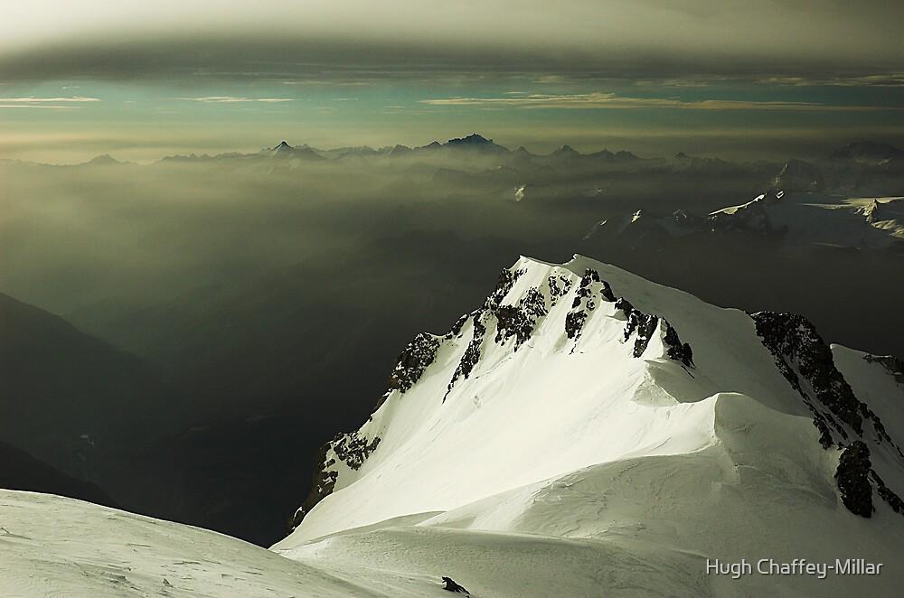 Sunrise over the French Alps by Hugh Chaffey-Millar